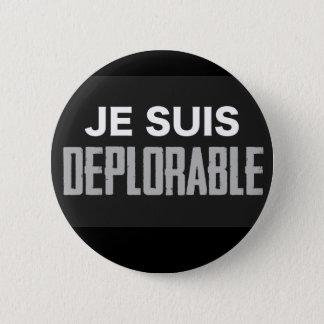 JeSuisDeplorable 6 Cm Round Badge