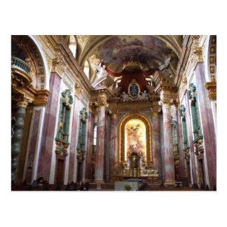 Jesuitenkirche, Wien Postcard