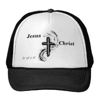 jesus 3, Jesus, Christ, Y. A. 4 C. Mesh Hat