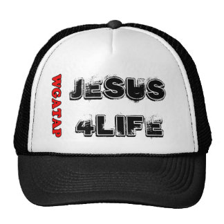 JESUS 4 LIFE TRUCKER HAT