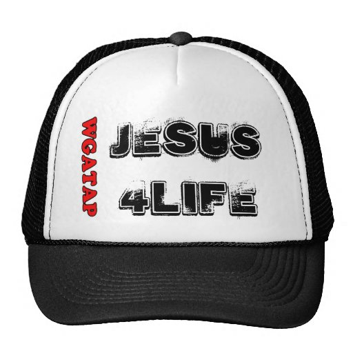 JESUS 4 LIFE MESH HATS