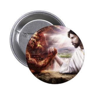 Jesus 6 Cm Round Badge