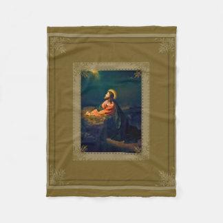 Jesus Agony in the Garden Fleece Blanket