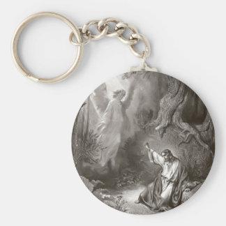 Jesus Agony In The Garden Religious Keychain