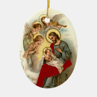 Jesus and Child Christmas Ornaments