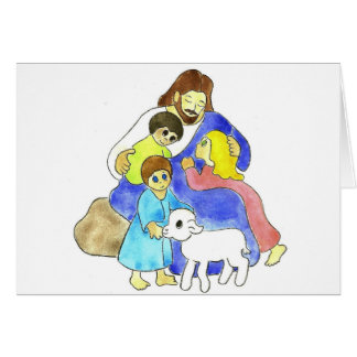 Jesus and Children Cards