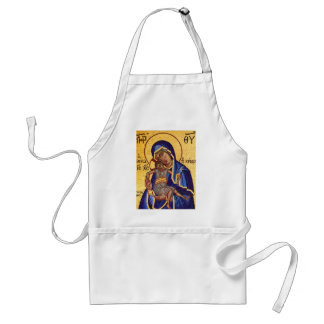 Jesus and Mary Mosaic Picture Standard Apron