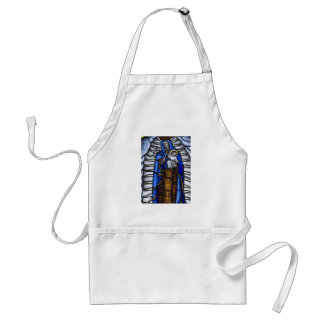JESUS AND MOTHER MARY ADULT APRON
