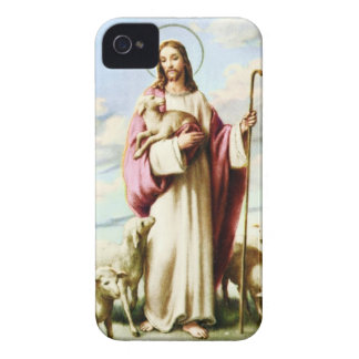 Jesus and Sheeps Case-Mate iPhone 4 Case