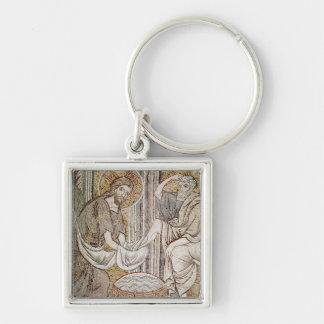 Jesus and St. Peter Key Ring