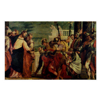 Jesus and the Centurion Poster