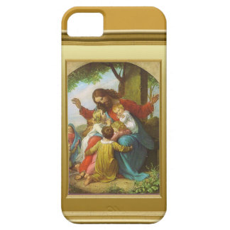 Jesus and the children case for the iPhone 5
