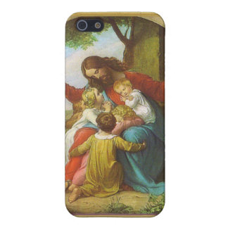 Jesus and the children iPhone 5/5S cover