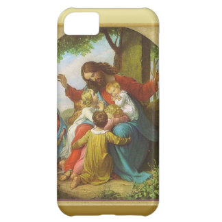 Jesus and the children iPhone 5C case