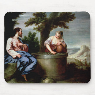 Jesus and the Samaritan Woman Mouse Mat