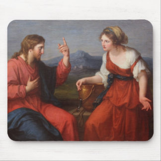 Jesus and the Woman at the Well Mousepads