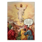 Jesus Ascends Card