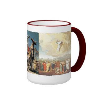 Jesus: Assention Ringer Mug