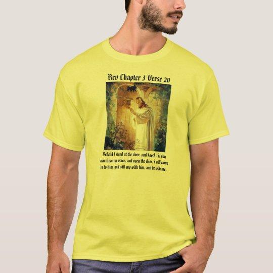 Jesus At The Door T/shirt T-Shirt