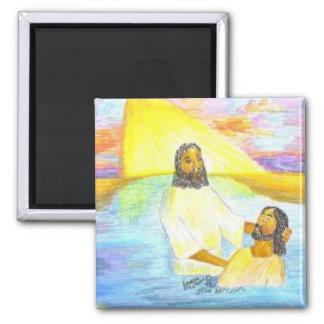 Jesus' Baptism Magnet