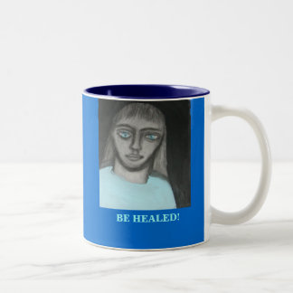 JESUS:  Be healed Coffee Mug