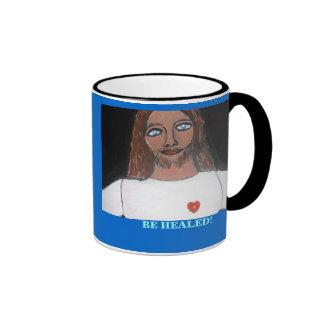 JESUS:  Be healed Ringer Mug