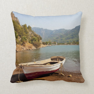 Jesus Beach, Turkey - Pillow Throw Cushion