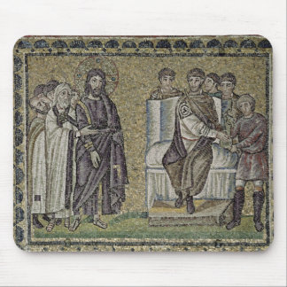 Jesus before Pontius Pilate Mouse Mat