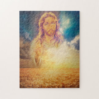 Jesus Blessing Holy Religious Puzzle