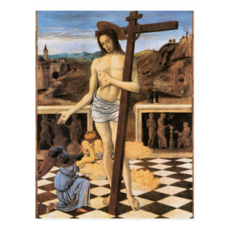 Jesus Blood Of The Redeemer Religious Postcard