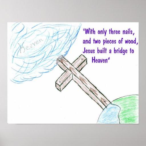 Jesus bridge posters