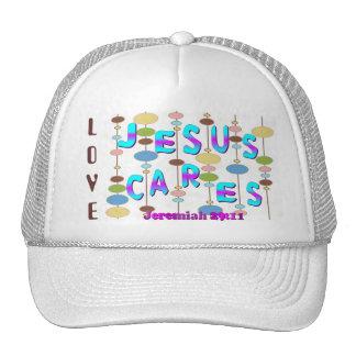 Jesus Cares Cap