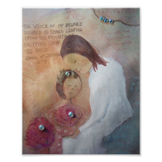 Jesus Cares Poster