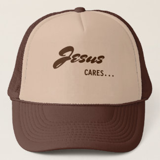 Jesus Cares Trucker Hat