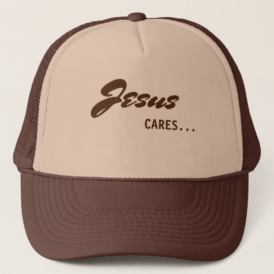 Jesus Cares Trucker Hat