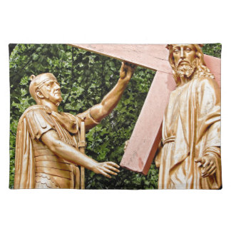 Jesus Carries Cross Placemats