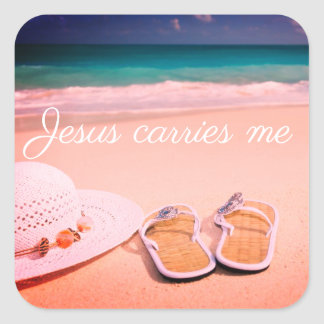 Jesus Carries Me | Inspirational Planner Stickers