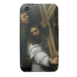 Jesus Carrying the Cross c 1535 oil on panel Case-Mate iPhone 3 Case