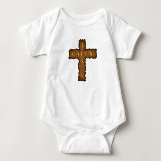 Jesus Cheer Baby Bodysuit