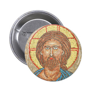 Jesus Christ 6 Cm Round Badge