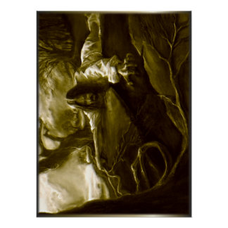 Jesus Christ Agony in the Garden of Gethsemane Poster