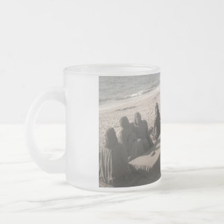 Jesus Christ And Disciples - Collection Frosted Glass Mug