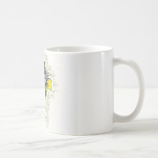 Jesus Christ and The Cross. Basic White Mug