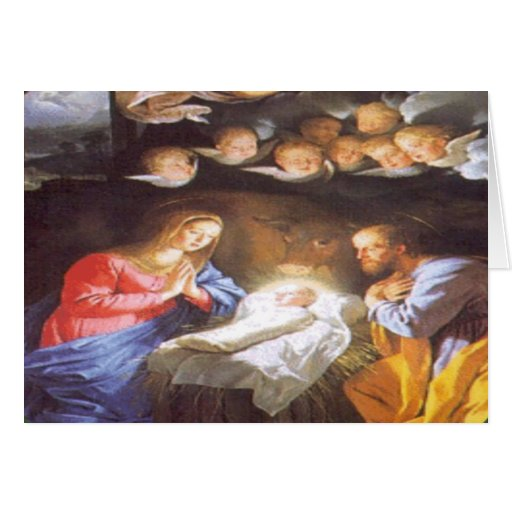 JESUS CHRIST BIRTH CARDS
