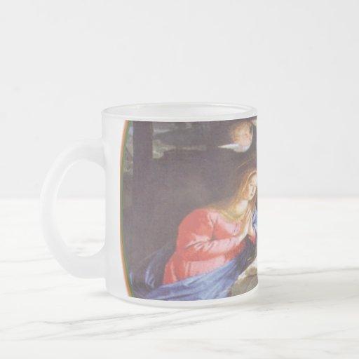 JESUS CHRIST BIRTH COFFEE MUGS