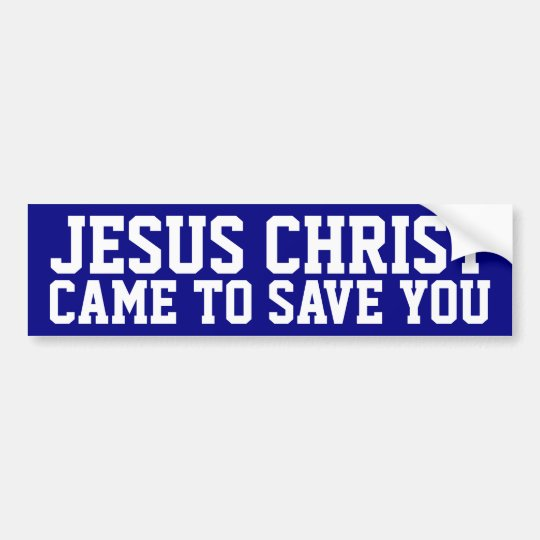 Jesus Christ Bumper Sticker