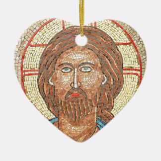 Jesus Christ Ceramic Heart Decoration