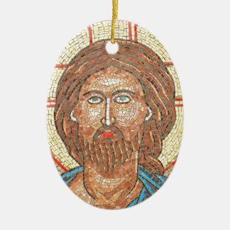 Jesus Christ Ceramic Oval Decoration