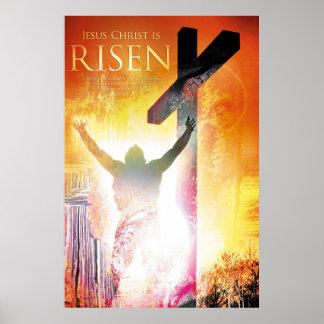 JESUS CHRIST Christian, religious, bible verse art Poster