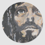 Jesus Christ Classic Round Sticker